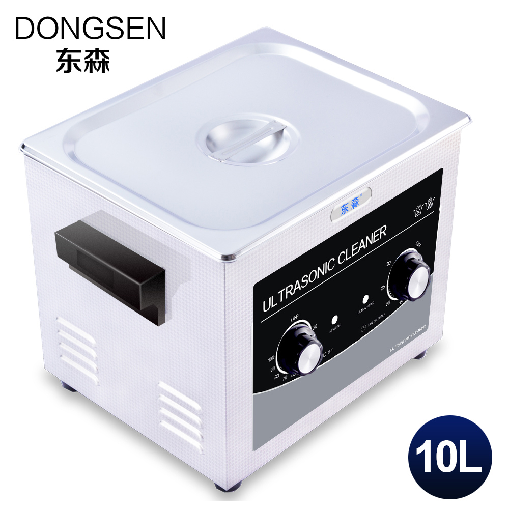 Machine de nettoyage à ultrasons 10L bain Auto moteur pièces matériel métal PCB conseil verrerie carburateur dentaire ultrasons vague réservoir