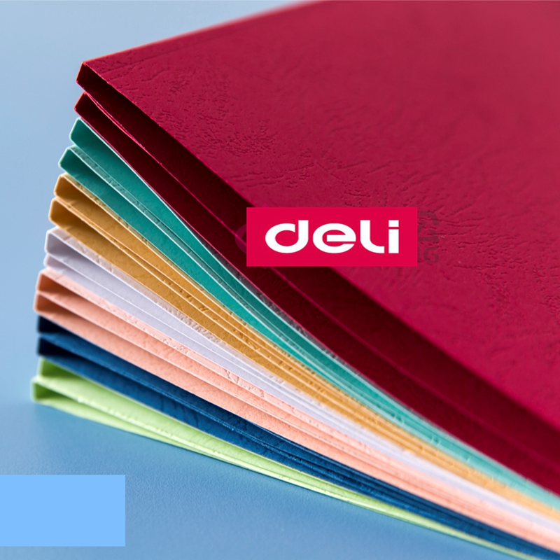 10PCS/LOT Deli 10mm (71 85pageS) A4 Colored Thermal