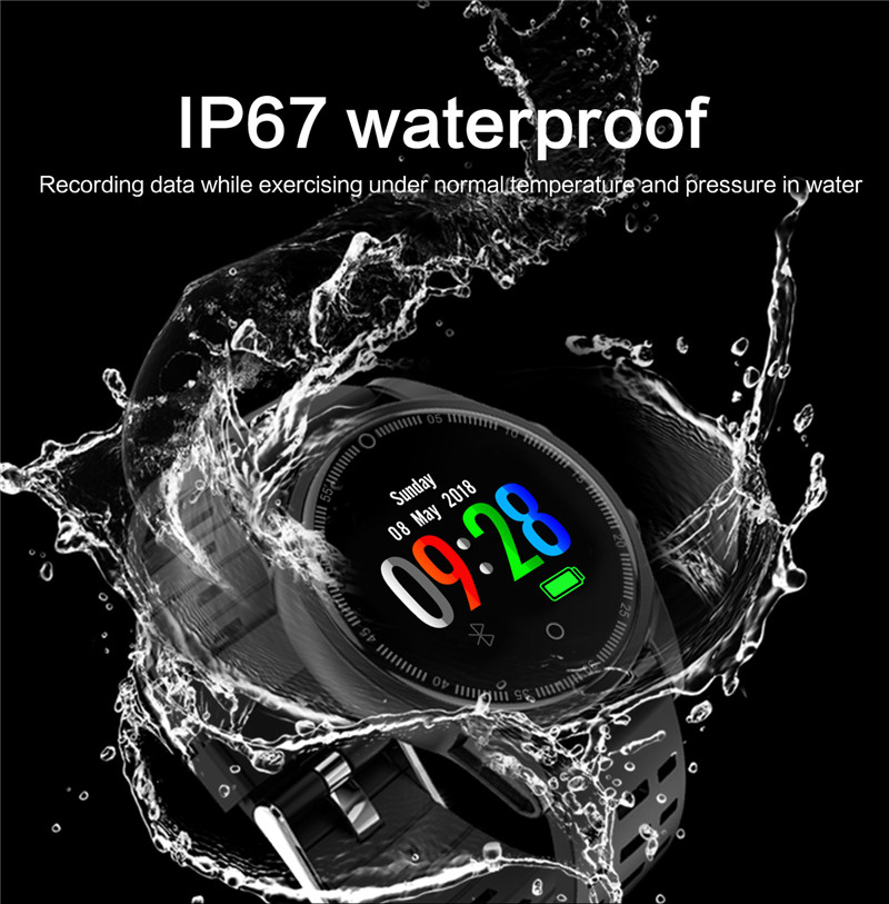 Smart watch fitness IP67 waterproof for Android IOS