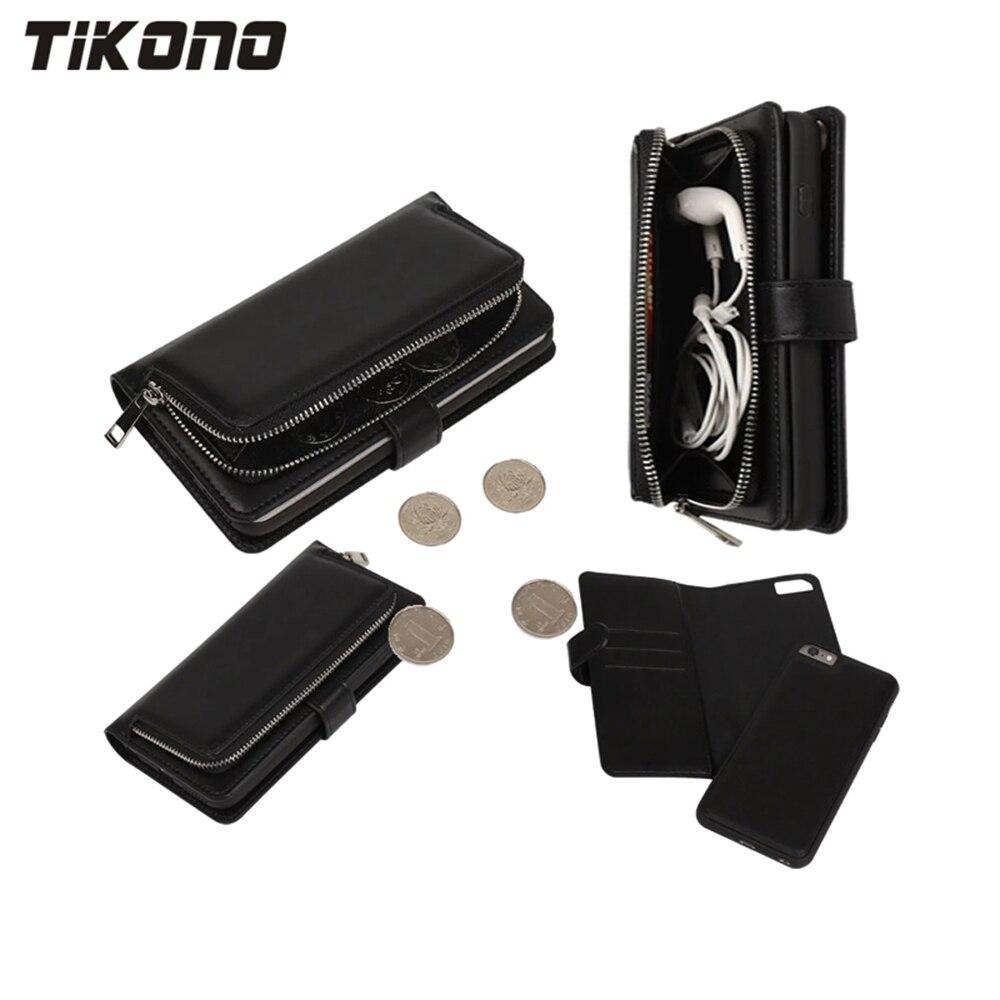 2 In 1 Multifunktions-Reißverschluss Leder Abnehmbare abnehmbare - Handy-Zubehör und Ersatzteile