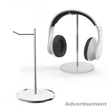 (10 PCS/PACK)  Acrylic Headphone Stand Holder Hanger Gaming Headset Dock Bracket Desktop Display Rack