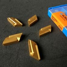 KNUX160405R KNUX160405L карбид вольфрама вставка замененный KORLOY режущий инструмент KNUX160405R-11 NC3030 вставки стали токарный инструмент