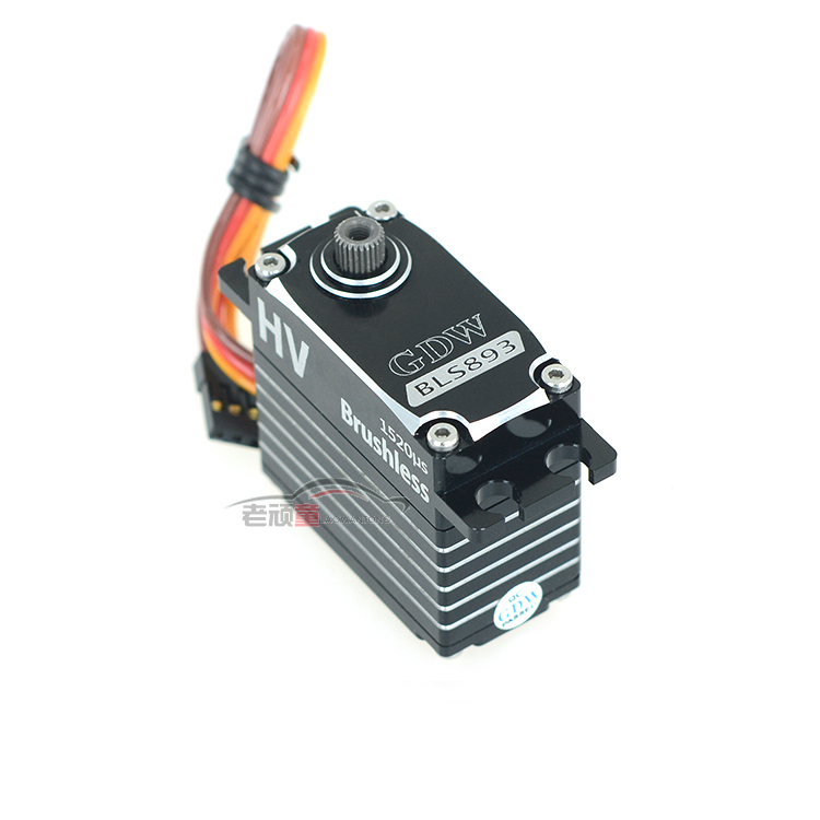 Original GDW 893 38KG Brushless Digital Large Torque Servo For RC Helicopter Car Airplane Camera Drones Accessories Spare Parts 1pcs jx pdi 6221mg 20kg large torque digital coreless servo for rc car crawler rc boat helicopter rc model