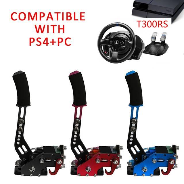 SGDOLL PS4 + PC USB Handbrake+Clamp For Racing Games G27/G29