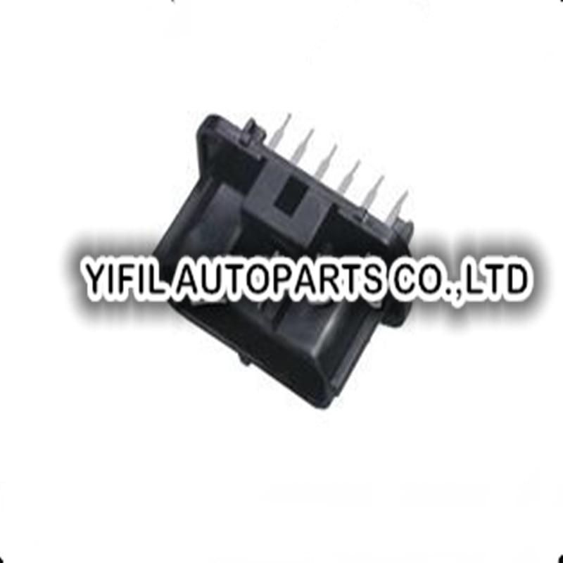 100pcs lot 6 Pin Way Accelerator Pedal Plug Housing Male Auto Connector For KIA Hyundai Mitsubishi