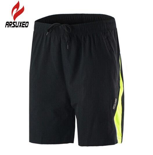 ARSUXEO Men Running Jogging Shorts Outdoor Sports Gym Bodybuilding Football font b Fitness b font Basketball