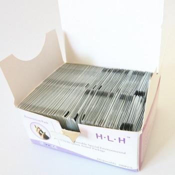 TYU100! 50 sztuk Remover okłady klocki polski paznokci narzędzia do Manicure chusteczki nawilżane podkładki papierowe folia Nail Art Cleaner do żelowy lakier do paznokci UV