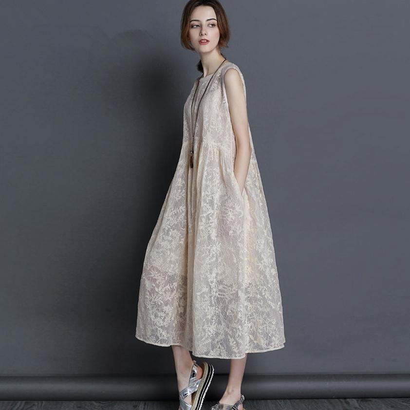 2017 summer new fashion brand silk dress womens sleeveless high-grade embroidery mulberry silk dress wj465 free shipping