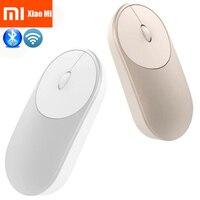 Original Xiaomi Mouse XMSB01MW Portable Wireless In Stock Mi Optical Bluetooth 4 0 RF 2 4GHz