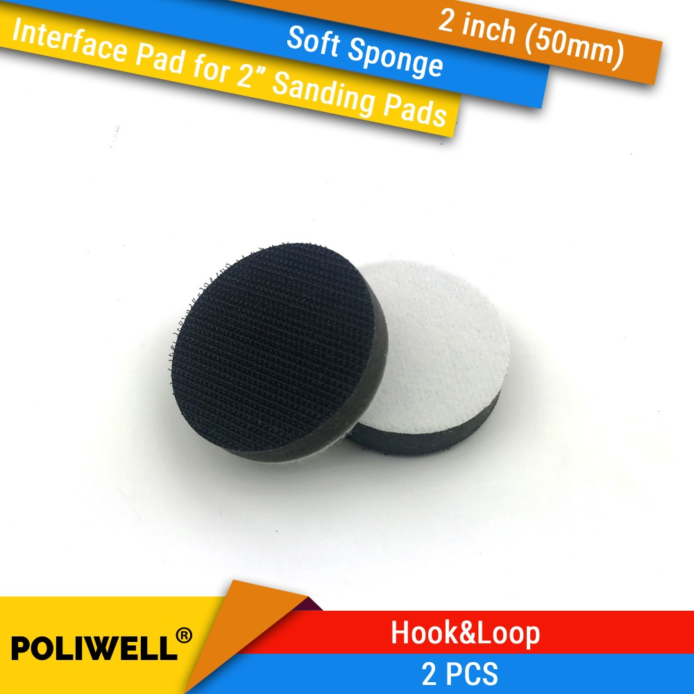 2PCS 2 Inch(50mm) Soft Sponge Interface Pads  For 2