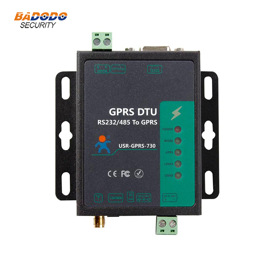 Industrial Cellular Modem serial port RS232 RS485 to GSM GPRS DTU Modem converter USR GPRS232 730