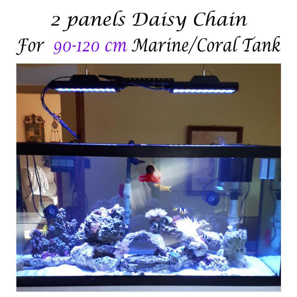 Popbloom 2 шт. спектра таймер программируемое led освещение для аквариума освещение для морской рыбы бак Arm монтажный комплект Akvaryum Chihiros