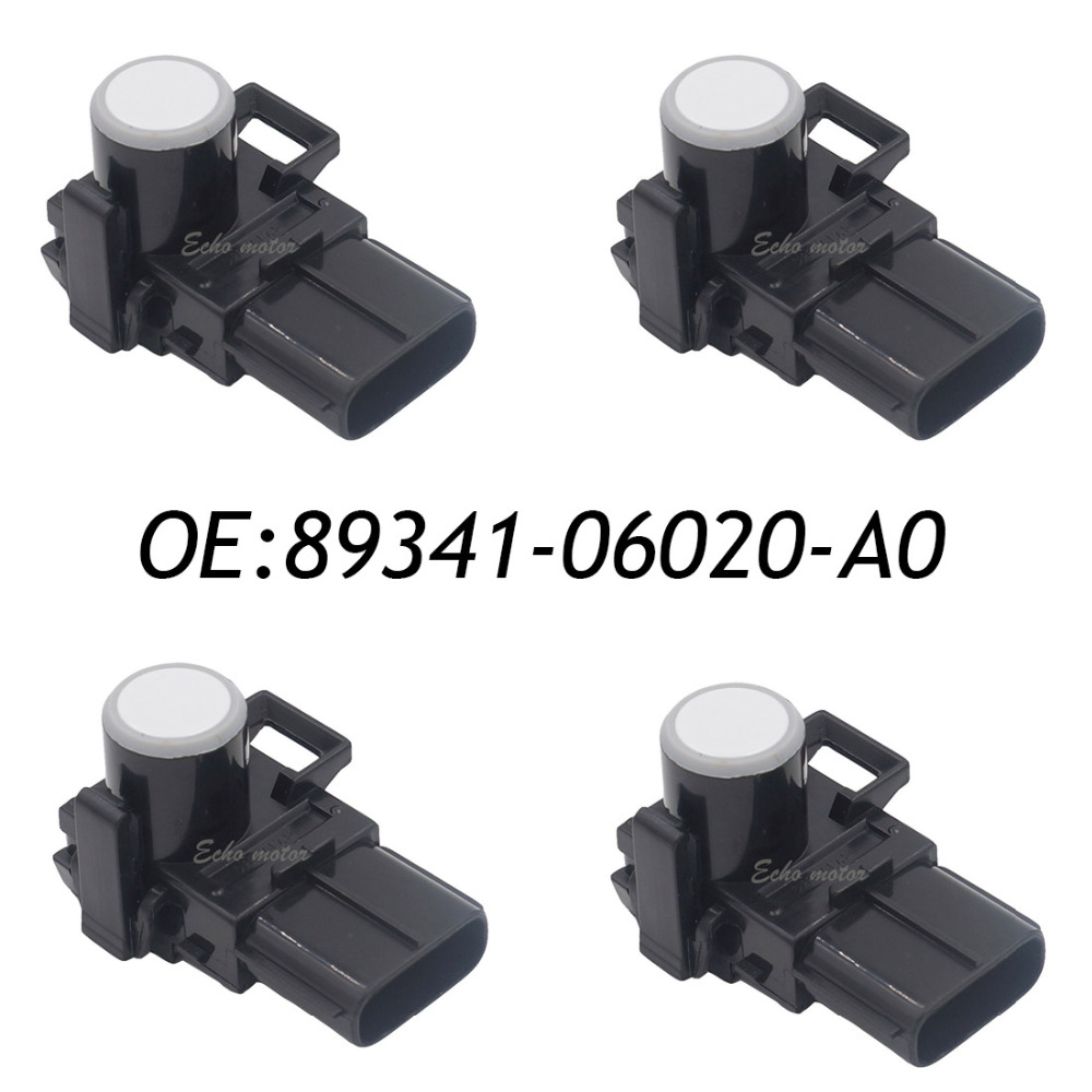 New 4pcs 89341-06020-A0 Bumper Parking Sensor PDC For PS341A2A1 Lexus RX350 RX450h Toyota Sienna 89341-06020 188300-3910 цена 2017
