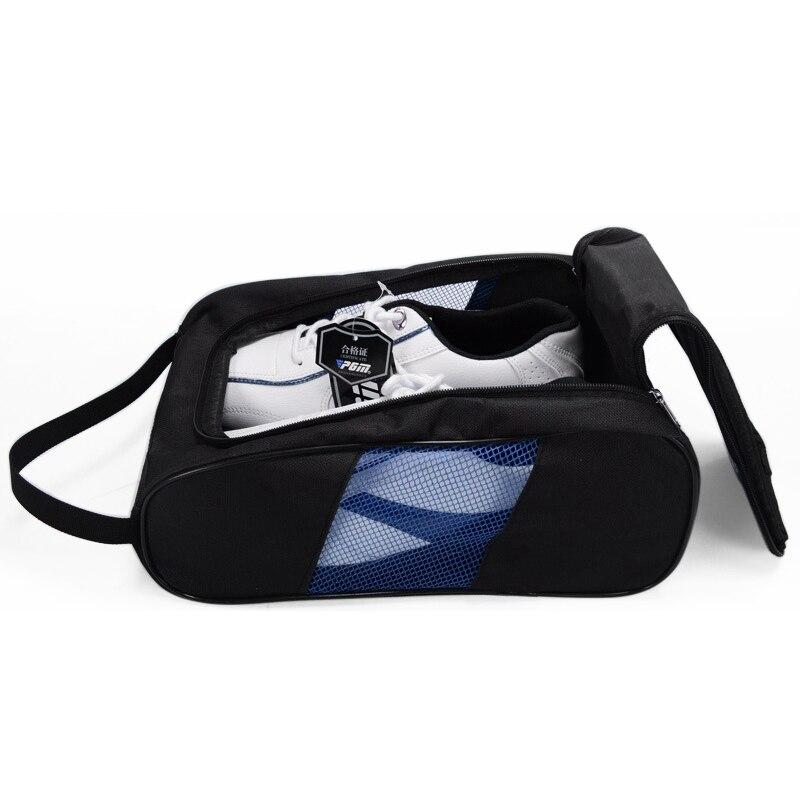 Pgm сумка для обуви для гольфа для мужчин воздухопроницаемая подвесная сумка для обуви женская переносная сумка для обуви легкие сумки для х...