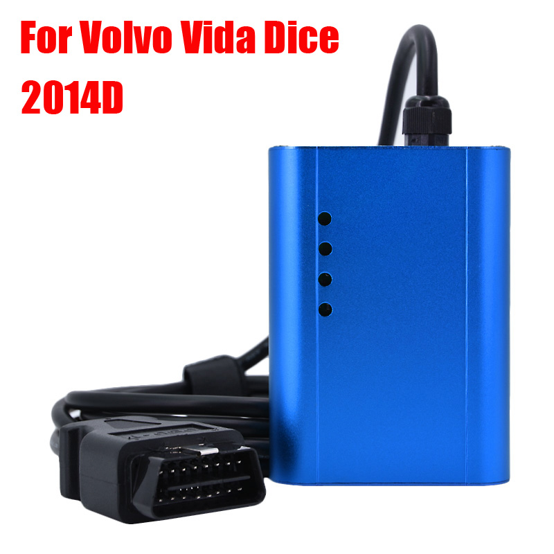2014D Super Dice Pro+ Diagnostic Communication Equipment for Volvo With Multi-language auto car diagnostic tool dhl freeship vd tcs cdp single board multidiag pro with bluetooth 2014 r2 keygen 8 car cable car truck generic diagnostic tool