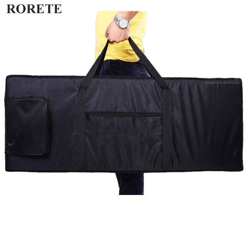 RORETE Waterproof thickened Nylon 54 61 76 88 key universal Instrument keyboard bag electronic piano cover