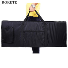 RORETE Waterproof thickened Nylon 54 61 76 88 key universal Instrument keyboard bag electronic piano cover case for electronic