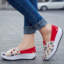 2016 Summer shoes new canvas flat shoes women lazy thick crust  shoes fashion women loafers #B1865