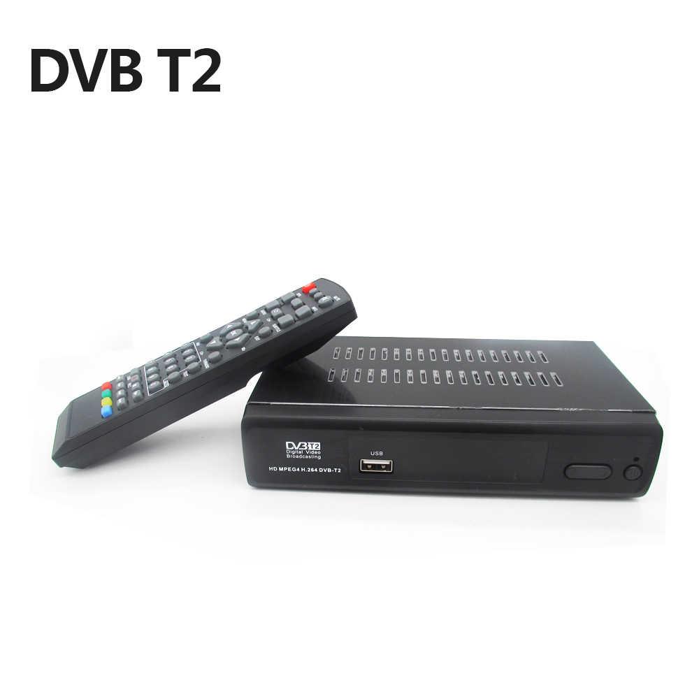 Vmade 2018 новые черные DVB T2 M2 FULL HD цифровой наземной ТВ комбинированный приемник FTA H.264 MPEG-2/4 ТВ Декодер каналов кабельного телевидения Media Player