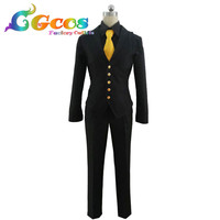 CGCOS Free Shipping Cosplay Costume My Hero Academia Boku no Hero Akademia Kaminari Denki Uniform Anime Halloween Christmas