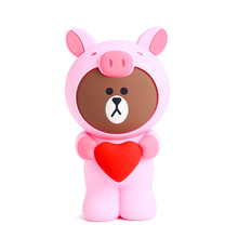 Q UNCLE Pencil Case Pink Benevolence Pig Pen Case Soft Silica Gel School Stationery Pen Bag Gift for Girl Boy Student стоимость
