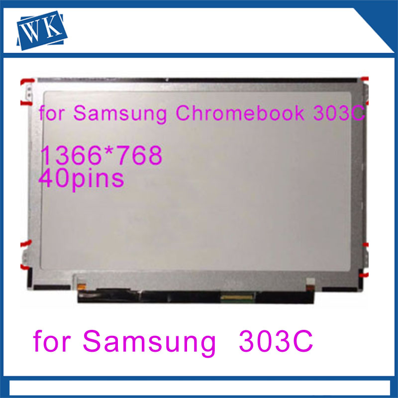 Free shipping 11.6 lcd matrix screen for Samsung Chromebook 303C XE303C WXGA HD LED LCD Screen Notebook displayFree shipping 11.6 lcd matrix screen for Samsung Chromebook 303C XE303C WXGA HD LED LCD Screen Notebook display