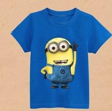 2016 New Baby Boys Girl Cartoon Design Round Collar Fleece Children Wear T-Shirts Children's ClothesCotton Shirt Free Shipping
