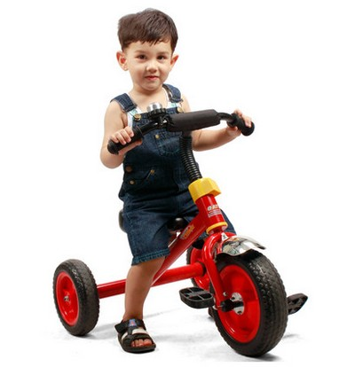 Children tricycle small tricycle bicycle toy car Walker 1-3-6 years old baby child bicycle