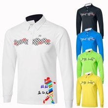 2016 New arrival tit golf clothes male quick-drying breathable male autumn long-sleeve t-shirt male long-sleeve uniforms