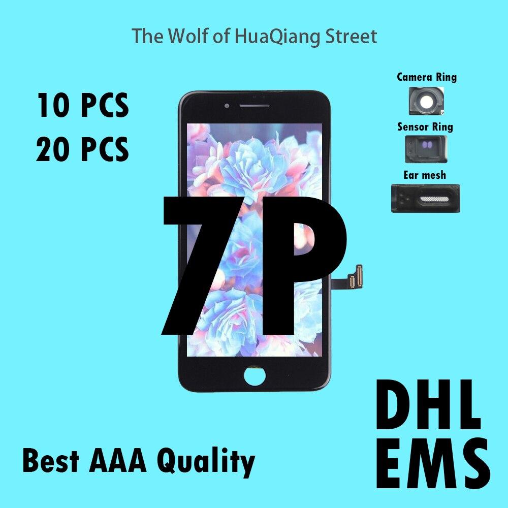 10 20 pcs Tianma Qualité AAAA LCD Pour iPhone 7 p 7 plus LCD Assemblée D'affichage avec Écran Tactile de Remplacement digitizer