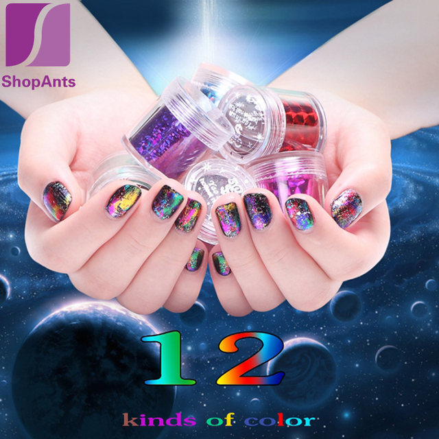 New 4120cm Star Nail Art Designer Stickers Beauty Decals Nails