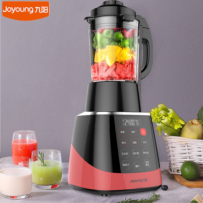 Image 2 - 220V Joyoung JYL Y912 Electric Food Blender Household Kitchen Food Mixer Cell Breaking Technology Extractor Juice MakerBlenders   -