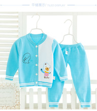 Knitted Cardigan Baby boys/women Sweater+Pants Clothes Set Long Sleeve Toddler Baby go well with Outfit Baby Clothing Infant Winter
