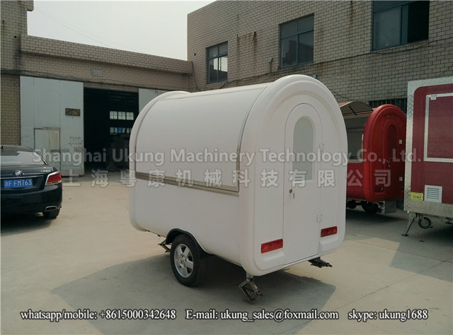 Hot Sale Enclosed Mobile Food Trailer Ice Cream Van Stickers CartMobile Cart Truck Coffee Car