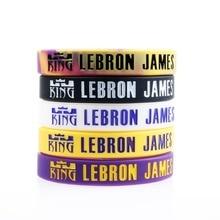 ce117c364ee Pulseira de Silicone de alta Qualidade LA Lakers Lebron James Escolhido 1  Caril de Jogadores de