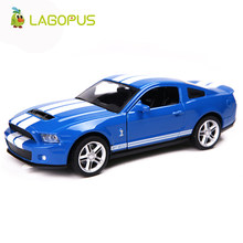 High Simulation 1:36 Mustang GT alloy pull back model cars Two door sports car Model Toy Collection Gift For Kids New(China)