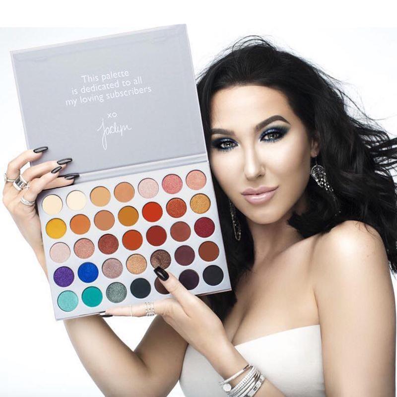 ZHENDUO 35 Colors New shimmer matte glitter Eyeshadow Palette Highlighter waterproof Eye beauty Makeup  Cosmetics