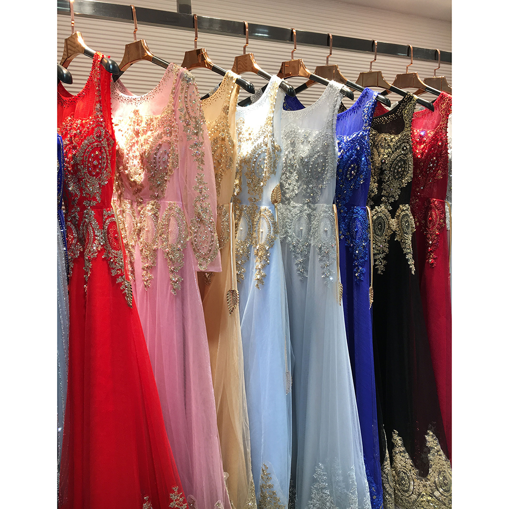 Buy Cheap Gold Sequin Dress Sleeveless Rhinestone Evening Gowns Dark Red Prom Dress Long Elegant Party Dresses Beading Formal Gown GT52
