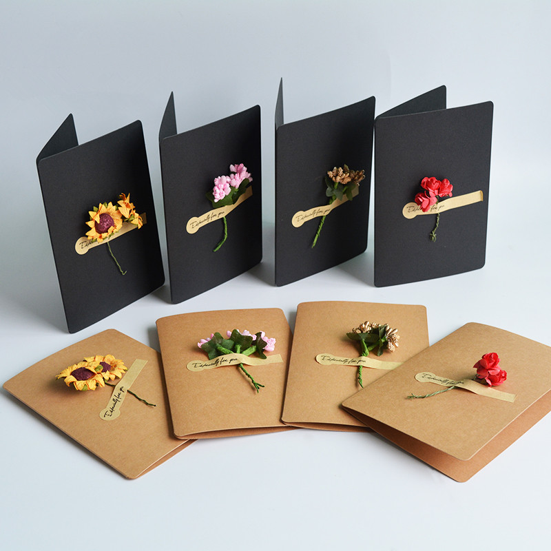 Gift Cards For Flower Gift Packaging Florist Wrapping