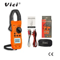 ViCi Digital Clamp Meter AC DC Current Voltage Ohm NCV Temperature Frequency Resistance Ammeter Diode Tester CM 2016 Multimeter