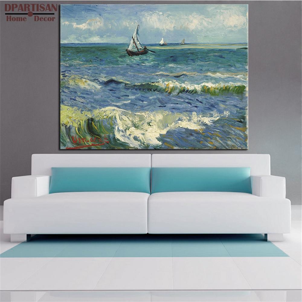 DPARTISAN Vincent Van Gogh boot flüsse bilder druck Giclee wandkunst ...