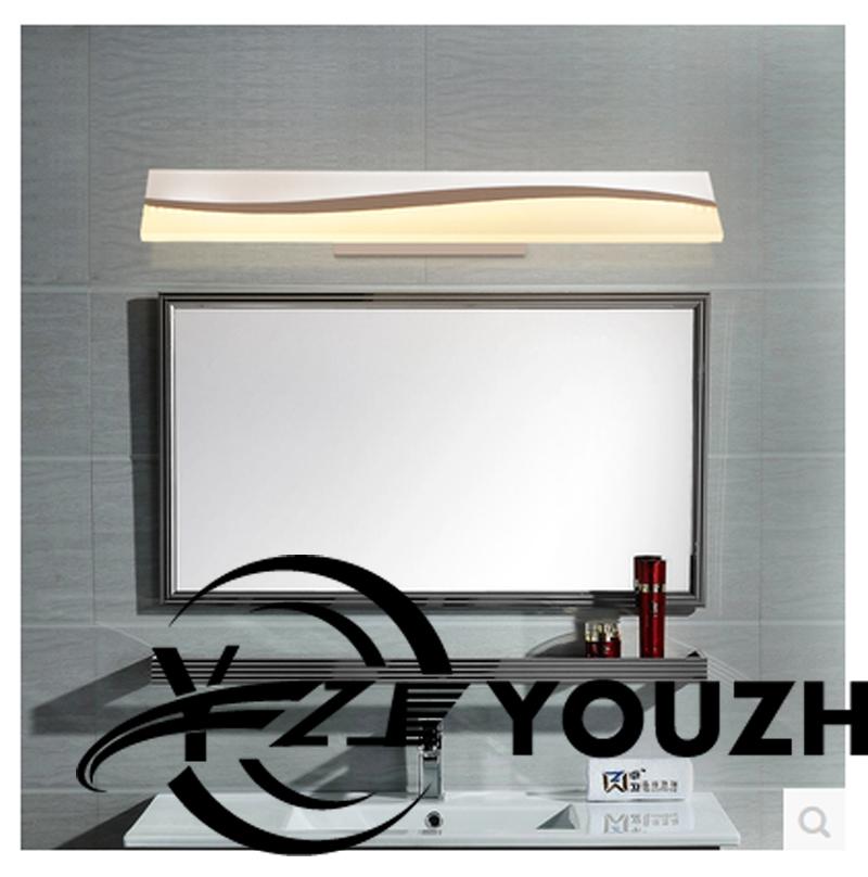 led faros lente bao moderno minimalista impermeable llev la lmpara de pared lmpara de espejo de