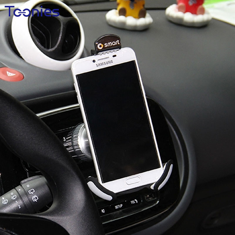 Smart 453 Model Forfour Fortwo Holder for Your Mobile Phone in Car Navigation Charging Support Suporte Celular Mount for Phone dhl ems 1pc new for ball uff bes m12mf gsc30b s04g