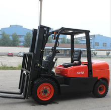CPCD40FR Diesel Powered Forklift Truck 4000kg Diese or Gasoline Engine