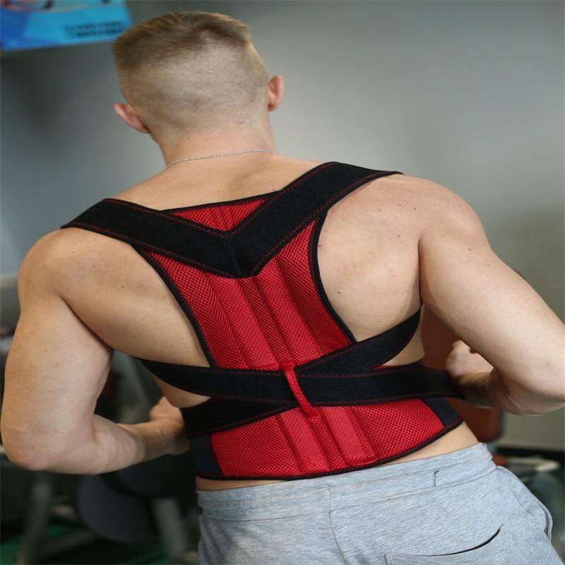 HEALTH CARE AFT-B003 Lumbar Support Belt Strap Posture Corset for Men Mens Back Posture Corrector Back Braces Belts