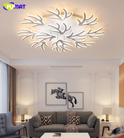 FUMAT Modern LED ceiling light Acrylic Christmas Antler led lamp light for living room bedroom led ceiling lamp home lighting