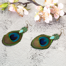 Romantic Gift Feather Earrings Retro Ethnic Fashion Earring