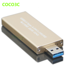 USB 3.0 to M.2 SSD Enclosure USB3.0 to NGFF B KEY Hard Disk adapter B+M key M2 SATA SSD External HDD Mobile Box