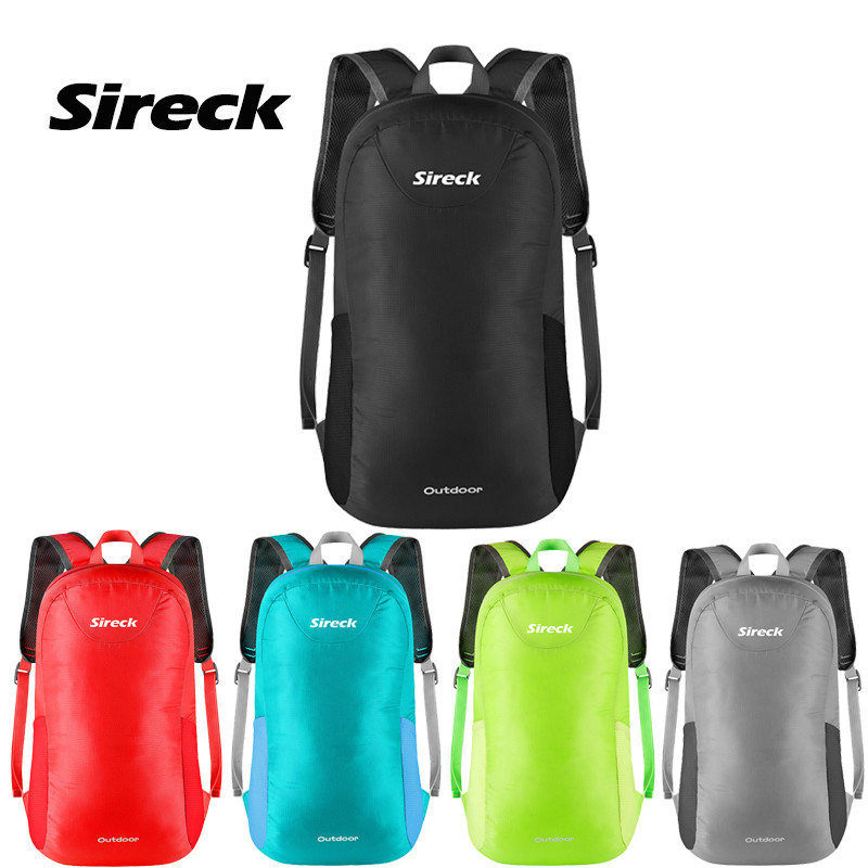 Sireck Sport Gym Bag Men Women 15L Nylon Foldable Yoga Bag Lady Fitness Shoulders Bag Cycling Backpack Package Bolso Deportivo