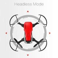 Feichao 8810 Mini Foldable Quadcopter Pocket Drone FPV WIFI Camera with Gravity Sensor Altitude Hold Dron RC Toys